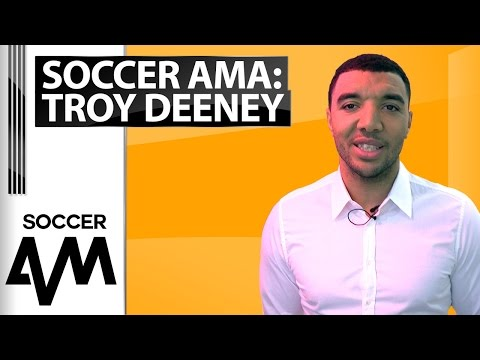 'Is the goal against Leicester the best goal you've ever scored?' Troy Deeney Soccer AMA
