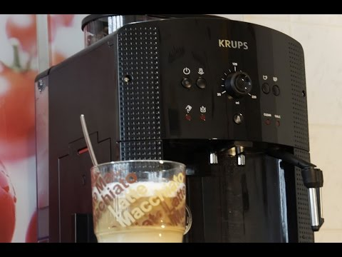 KRUPS EA 8108 -Latte Macchiato- Kaffeevollautomat Zubereitung & Reinigung
