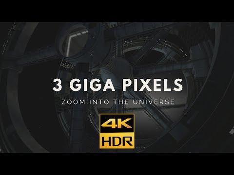 3 GIGA PIXELS ZOOM IN  4KHDR10 ESOSpace