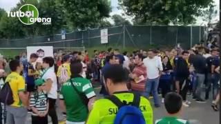Fenerbahçe - Sporting Lizbon maçı öncesi taraftarların bekleyişi
