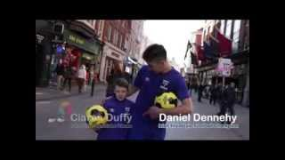 """#GiveItUp4Crumlin """"Mini Messi - with World Famous Dan Dennehy"""""""