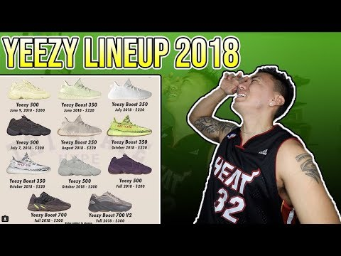 Every Adidas YEEZY Sneaker Releasing This Year (2018 Yeezy Releases)