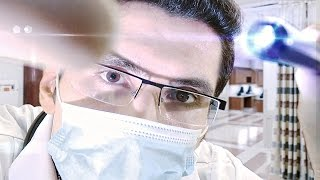 [ASMR] Emergency Room Medical Role Play (with MasterCoul ASMR) [binaural] [male]