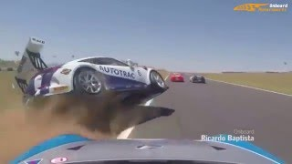 On-board: Crashes Compilation - Accidents On The Race Track