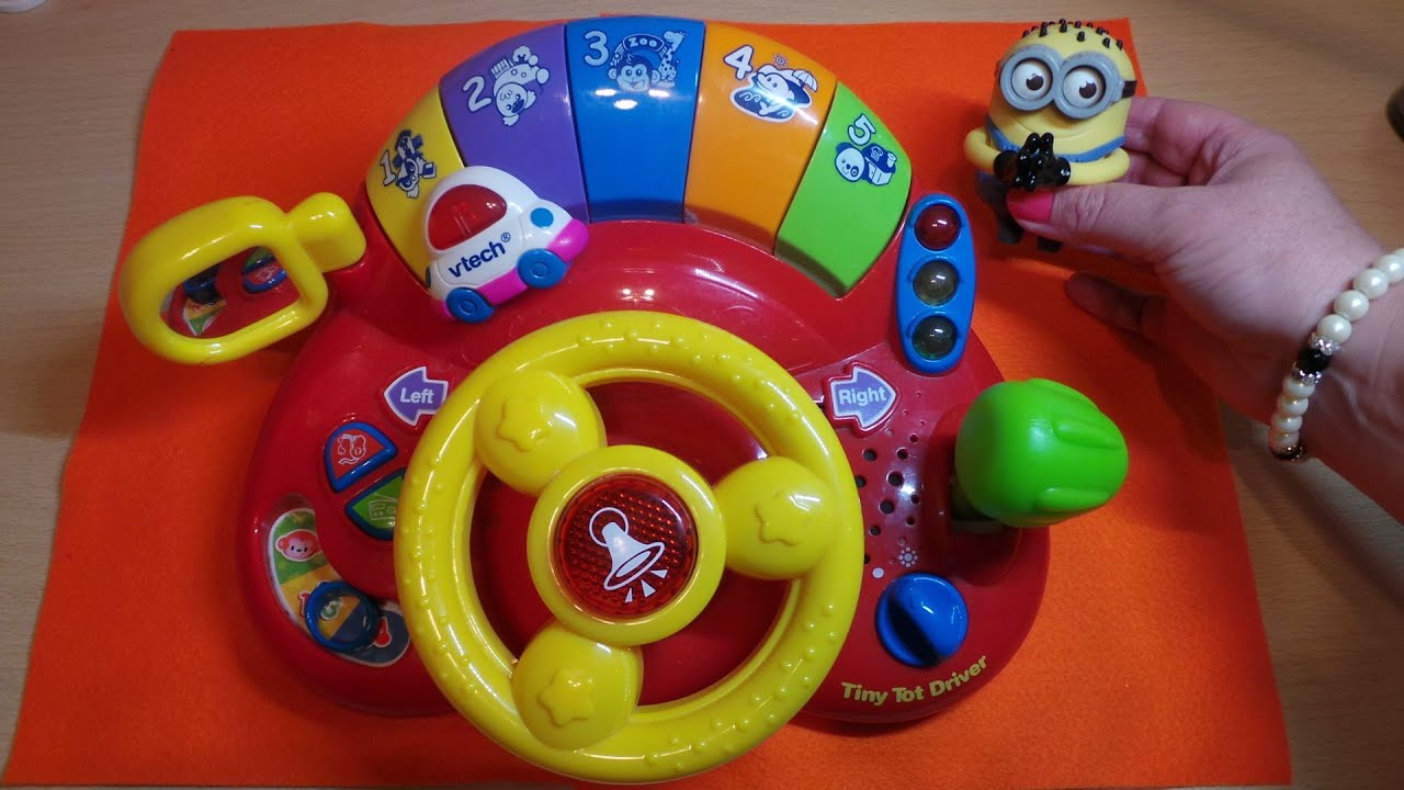 Top Vtech Toys : Review of this top preschool vtech learn discover tiny