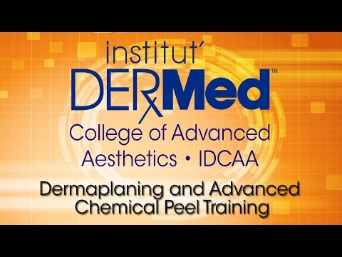 2015 Dermaplaning Chemical Peel Training at IDCAA
