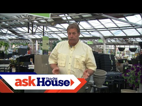 How To Plant Using Large Containers | Ask This Old House