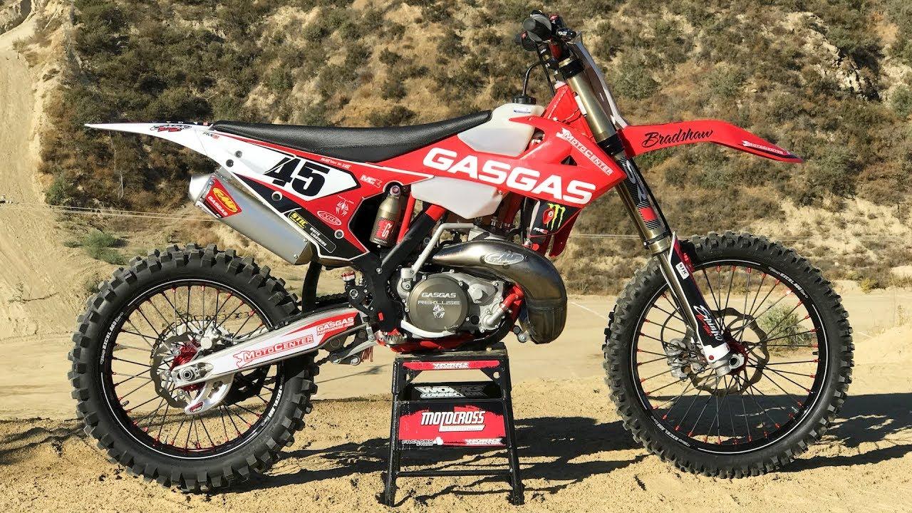 Motocross Action tests Damon Bradshaw's Gas Gas XC300 2 Stroke