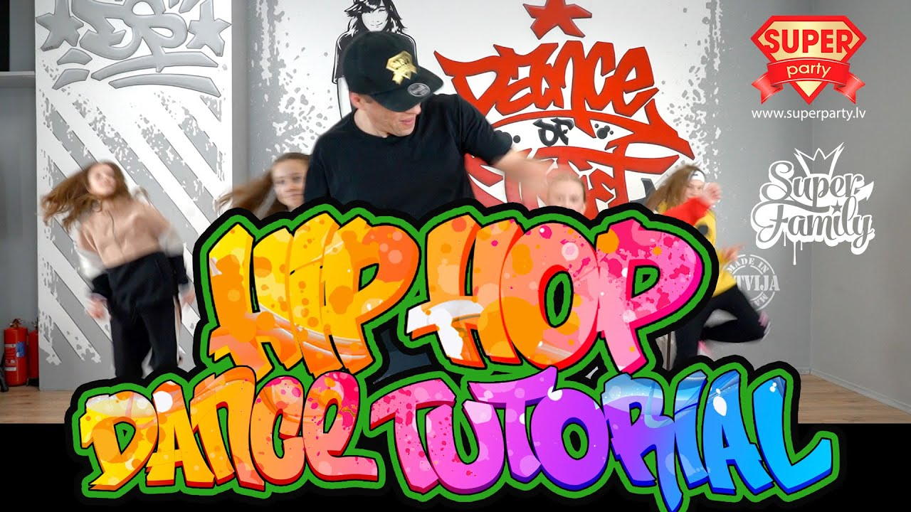 Hip-Hop Dance Steps l Old, Middle & New School   With Names