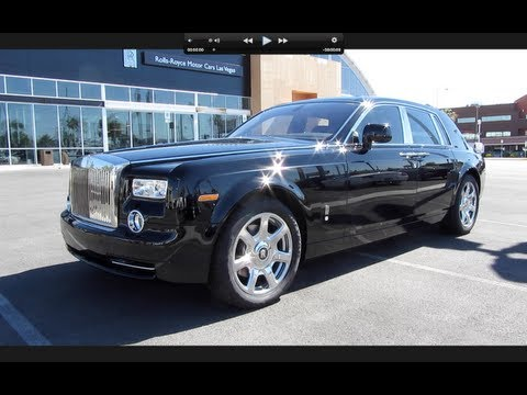 2011 Rolls Royce Phantom Start Up, Exhaust, and In Depth Tour