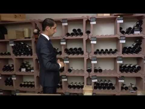 Stan S.J. Kerckhoffs presents the wine cellar of the Michelin star Latour