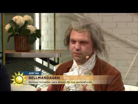 Därför glöms aldrig Bellman bort! - Nyhetsmorgon (TV4)
