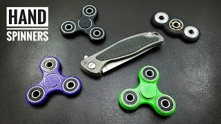 Hand Spinners - Fidget Toys(A look at some hand spinners/ fidget toys. While not for everyone, they are definitely fun for restless hands throughout the day., 2016-08-30T04:17:57.000Z)