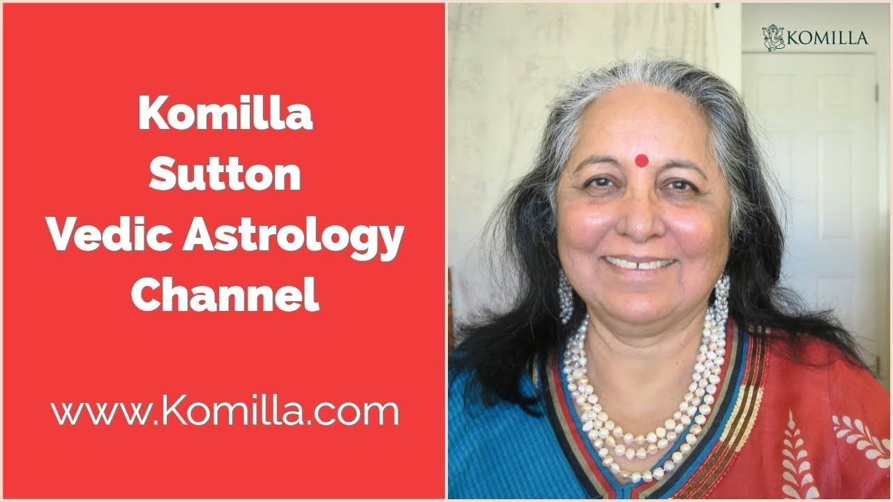 Komilla Sutton Vedic Astrology Channel