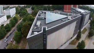 Nowy budynek Biotechnologii KUL z powietrza