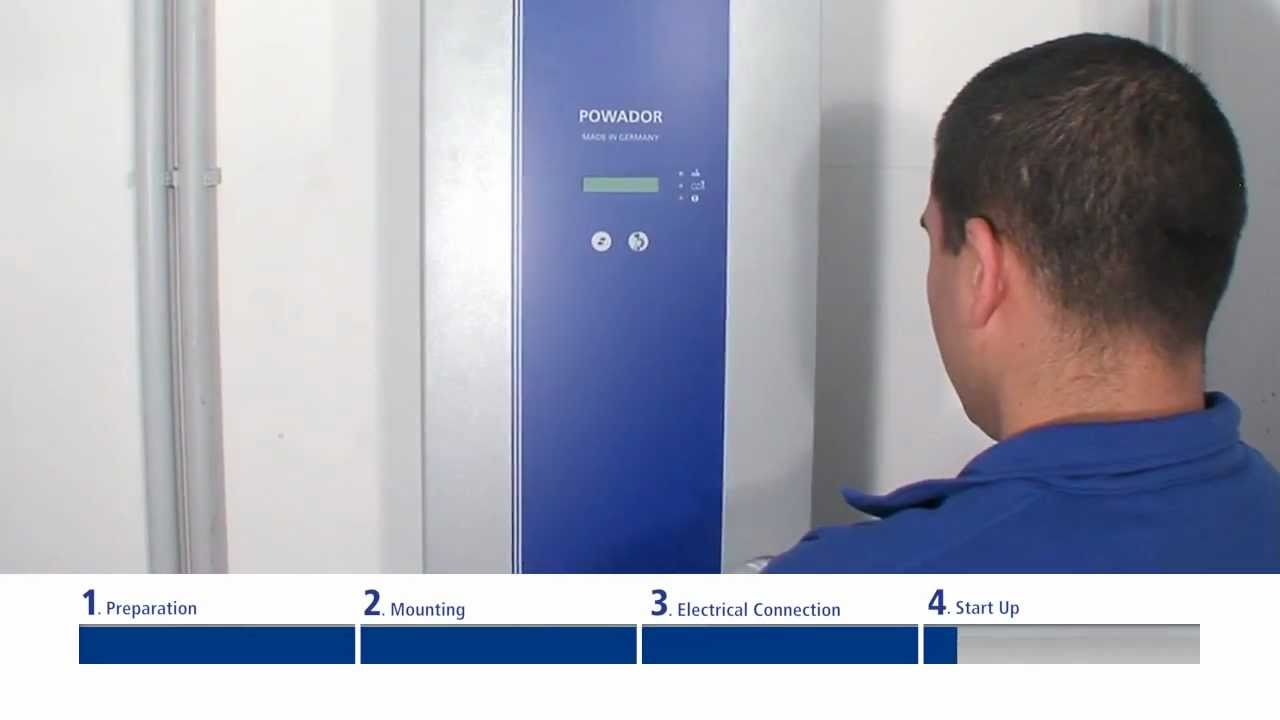 Installation guide Powador 02-Series by KACO new energy on