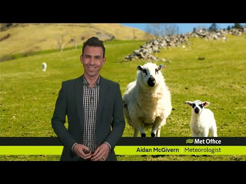 Saturday morning forecast 23/03/19