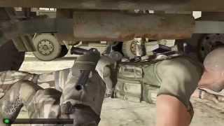 Splinter Cell Double Agent - Hide under truck