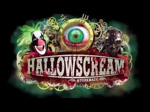 HALLOWSCREAM   York Maze Hallowscream: 2014 Halloween Fright Nights Event Trailer