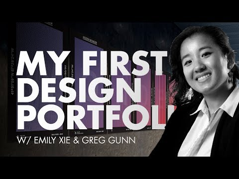 Emily's First Graphic Design Portfolio Review | Part 1