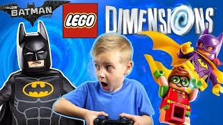 Let's Play LEGO DIMENSIONS - The LEGO Batman Movie Story Pack! | KIDCITY