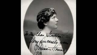 Contralto Louise Homer ~ Che faro senza Euridice (1911-1912)