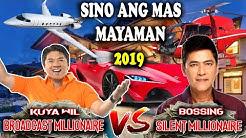 Sino ang mas Mayaman? Willie Revillame vs Vic Sotto   Bossing Vs Kuya Wil Sino ang Mas Mayaman? 