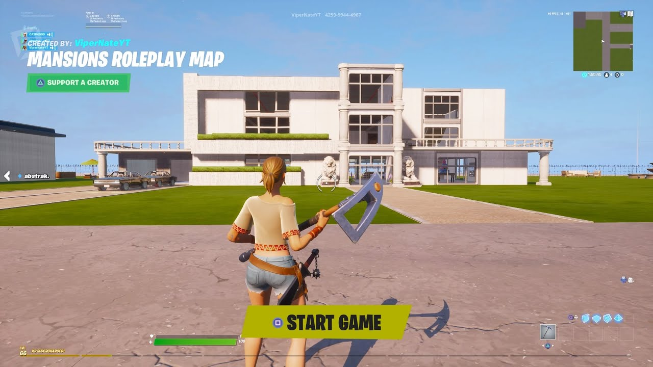Fortnite Roleplay Map Codes City Vipernate Fortnite Roleplay Maps 6 Maps Youtube