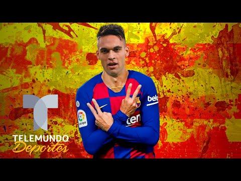¡Por los aires! El Barcelona ya conoce el valor de Lautaro Martínez | Telemundo Deportes