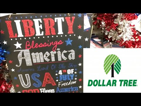 Dollar Tree Shop with Me! 4th of July, Summer & Makeup!