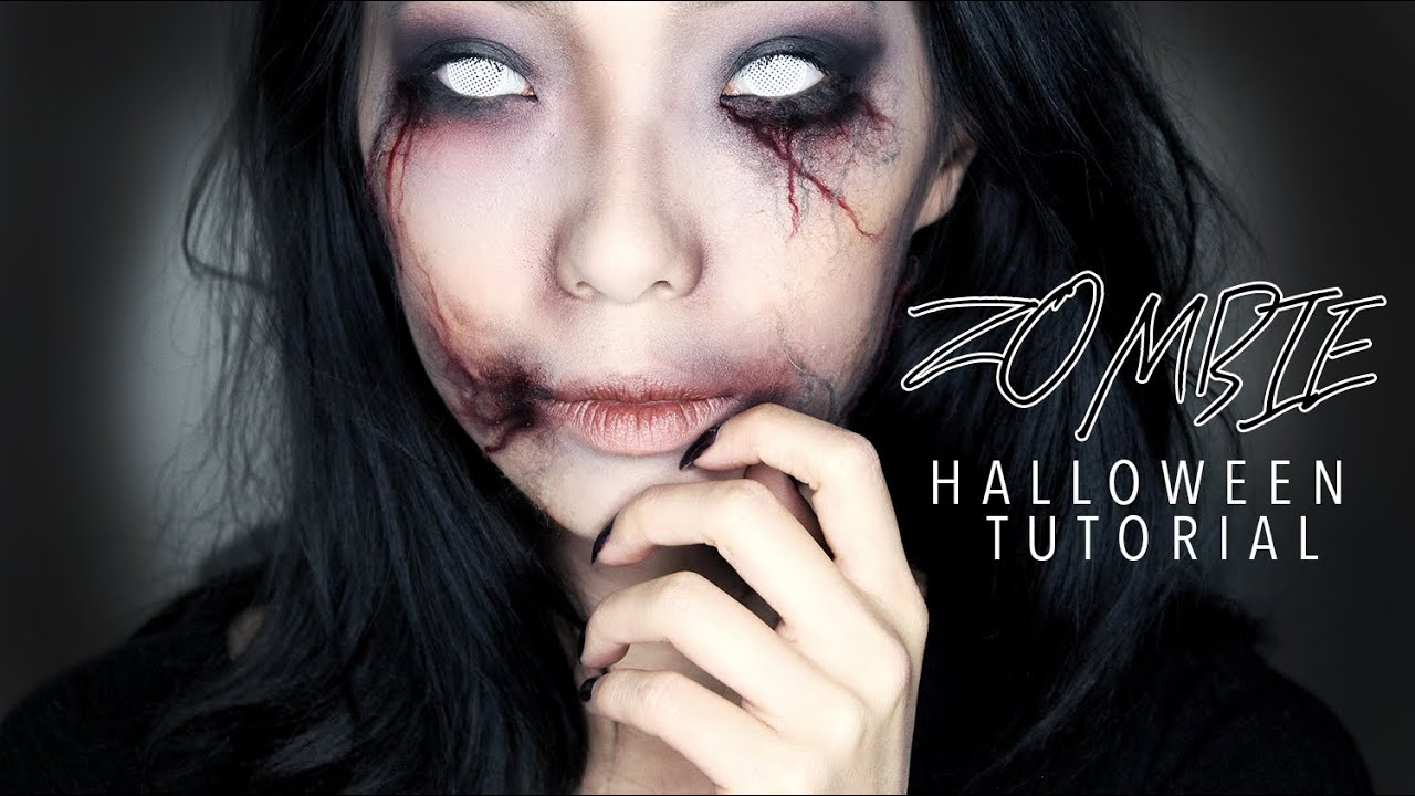 Beautiful Halloween Makeup Zombie Girl Pictures - harrop.us ...