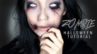 Creepy Zombie Girl Halloween Makeup Tutorial