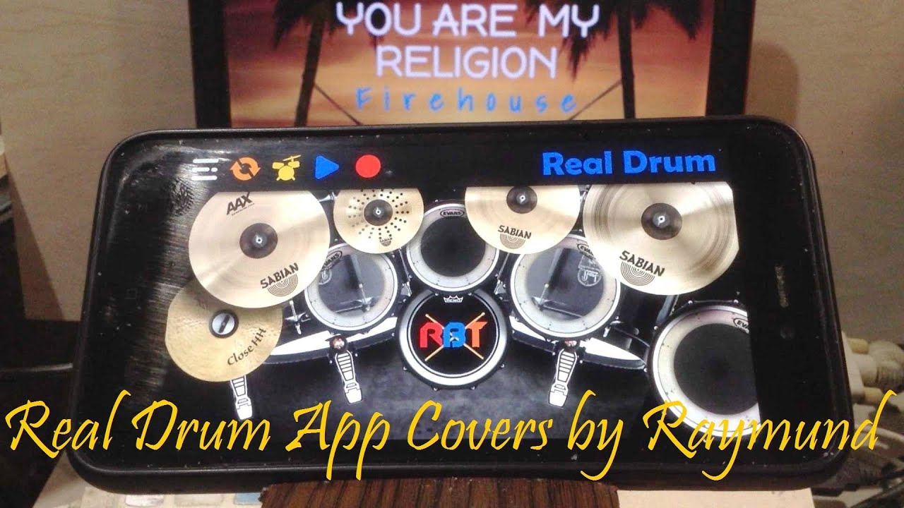 FIREHOUSE - YOU ARE MY RELIGION | Real Drum App Covers by Raymund