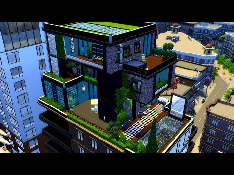 The Sims 4 || Speed Build || Penthouse Paradise