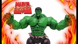 Marvel Select Incredible Hulk Toy Review Unboxing 2018 Diamond Select Toys kids toy review