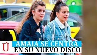Amaia se pone manos a la obra tras Eurovision, es vista con Rosalía y desata Operacion Triunfo