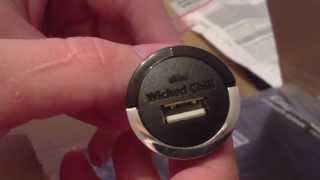 Unboxing Of: Wicked Chili (kfz-ladegerät) Für Iphone 4s / Easy Acc Power Bank Pb5600