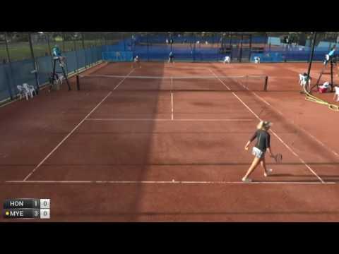 Hon Priscilla v Myers Abbie - 2017 ITF Mornington