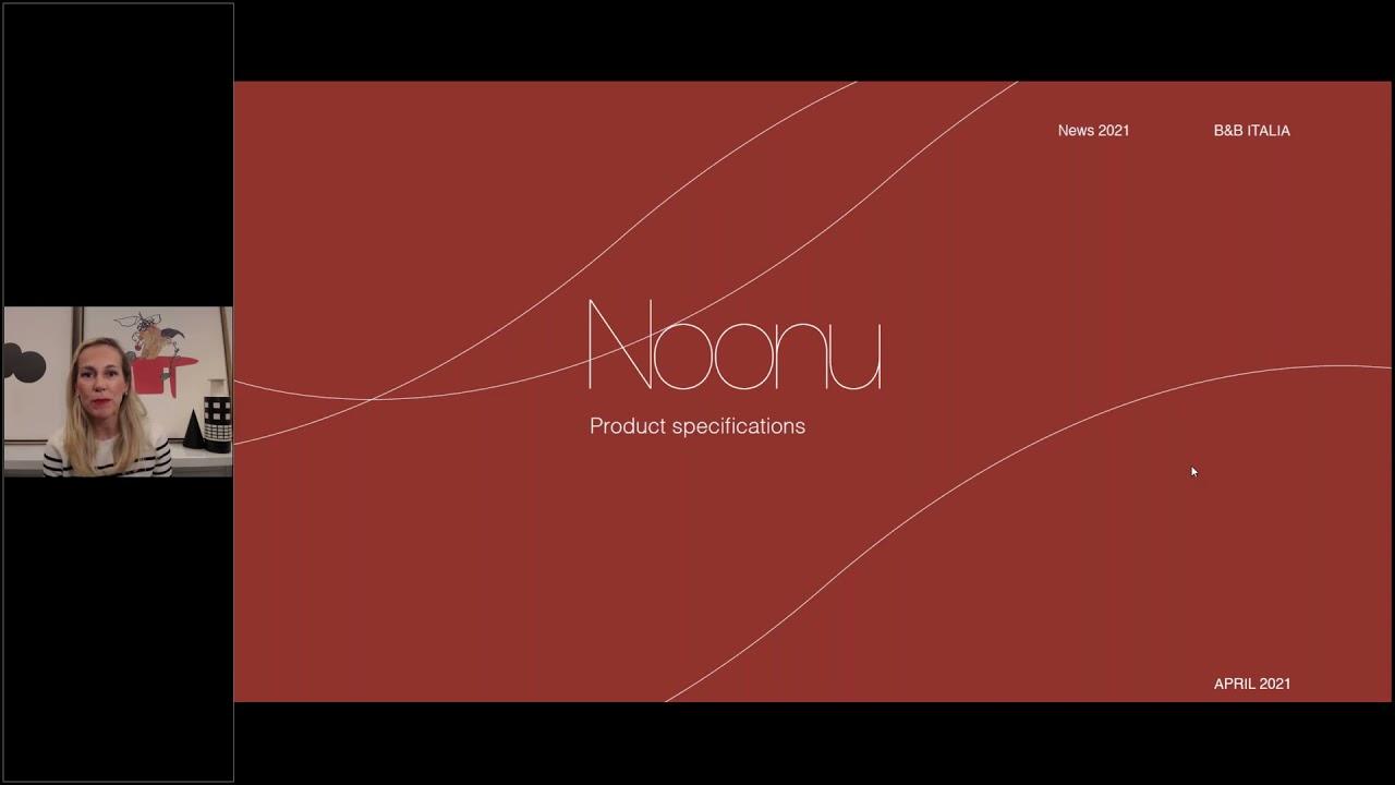 B&B Italia   Product Launch   Noonu by Antonio Citterio  - Webinar in English