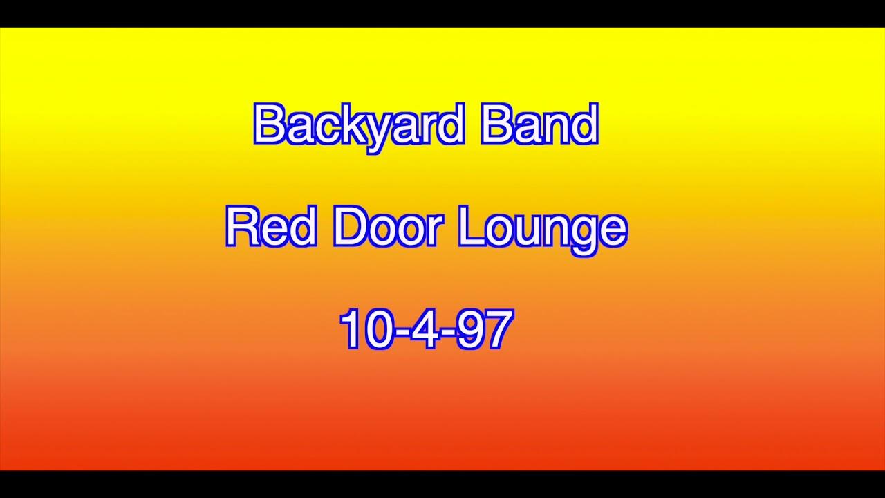 Backyard Band Red Door Lounge 10 4 97 Youtube