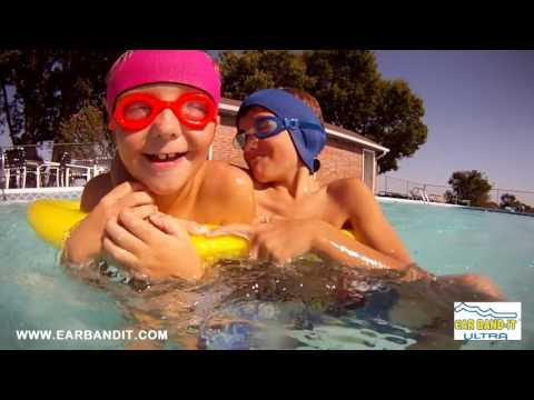 Ear Band-It swim headband & Putty Buddies swimming earplugs