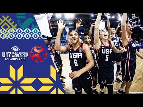 France v USA - Condensed Game  - Final - FIBA U17 Women's Basketball World Cup 2018