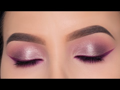 Soft and Easy Wearable Purple Eye Makeup Tutorial