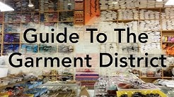 Guide to the Garment District - Buying Fabric in NYC