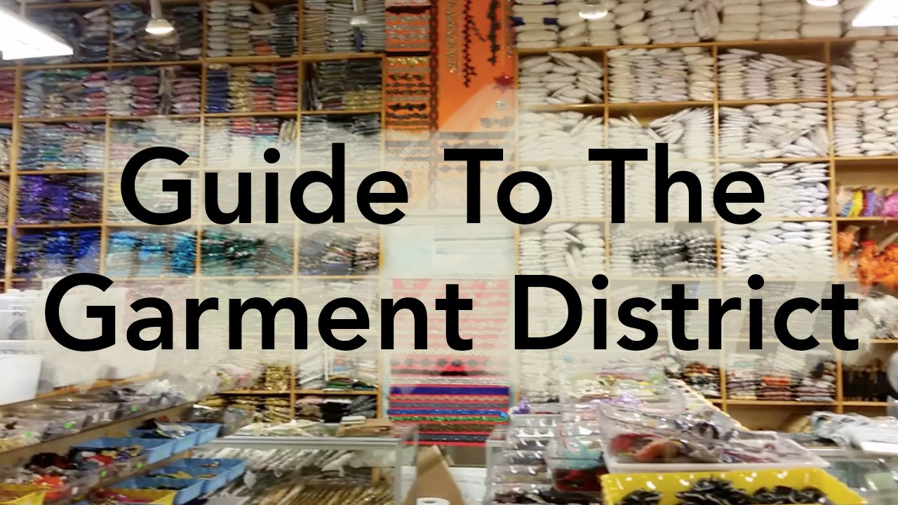 Good Furniture Fabric Stores Nyc #13 - Guide To The Garment District - Buying Fabric In NYC - YouTube