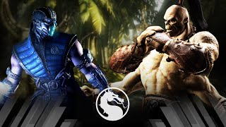 Mortal Kombat X - Sub Zero Vs Goro (Very Hard)
