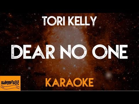 Tori Kelly - Dear No One (Karaoke/Acoustic Instrumental)
