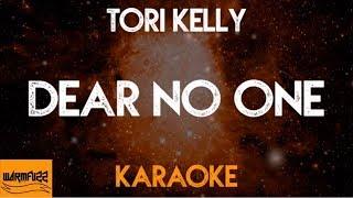 Tori Kelly - Dear No One (Karaoke/Acoustic Instrumental)