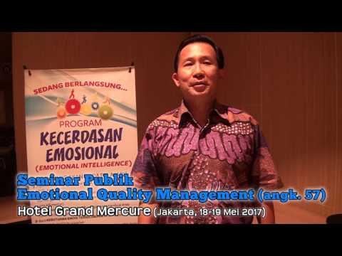 Emotional Quality Management (Jakarta, 18-19 Mei 2017) PUBLIK angkatan 57