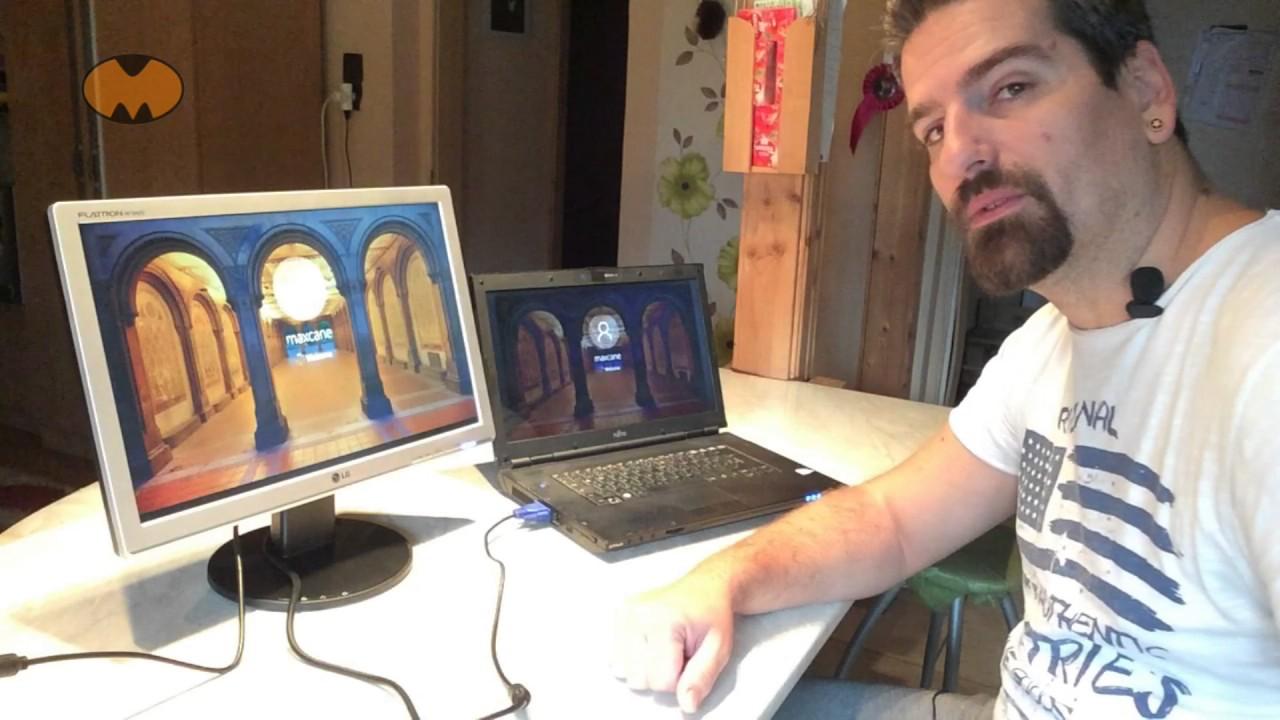 Tablet összekapcsolása a laptopjával.